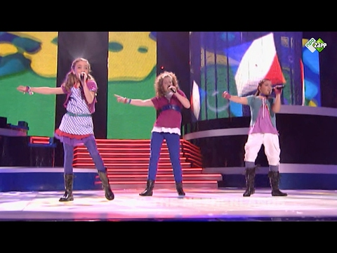 LISA, AMY & SHELLEY - ADEM IN ADEM UIT | JUNIOR EUROVISIE SONGFESTIVAL 2007