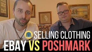 Selling Clothing on Poshmark vs eBay
