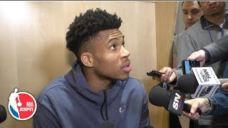 Giannis: Bucks' Game 4 loss to the Raptors is 'not the end of the world' | 2019 NBA Playoffs