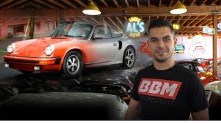 Crashkurs der Porschegeschichte! BBM Motorsport bei Chequered Flag Los Angeles Roadtrip Vlog