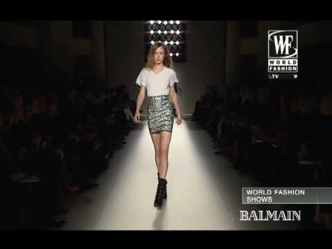 Balmain Fall 2009 Fashion Show (full)