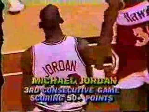 Michael Jordan 1987: 61 pts Vs. Dominique Wilkins