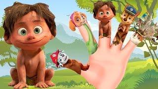 The Good Dinosaur Finger Family ♥ Nursery Rhymes Lyrics