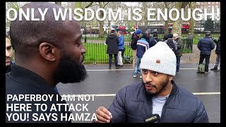 Video: In John 14:28, Jesus clearly said he was lower than Father. Trinity is a late development in Theology - Hamza Saudi vs Paperboy