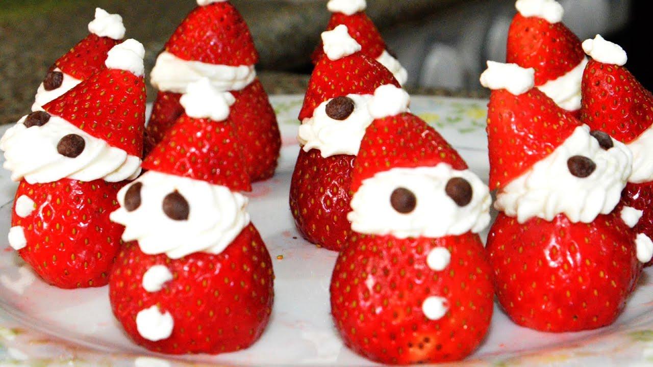 Postre de fresas con crema recetas de postres receta de - Comida para navidad facil ...