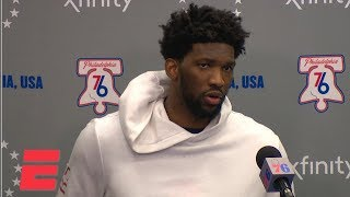 Joel Embiid on loss vs. Pacers, playing with Jimmy Butler | NBA Sound