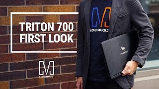 Acer Predator Triton 700 First Look: Ultra-portable Monster Gaming Laptop
