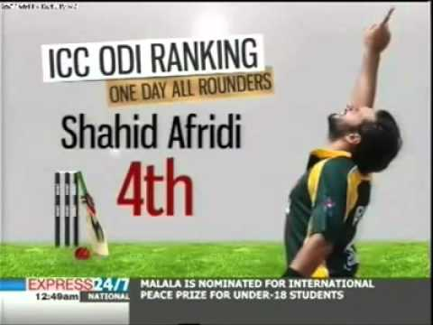 Pakistan climbs ICC ODI rankings - Media Generator | мG
