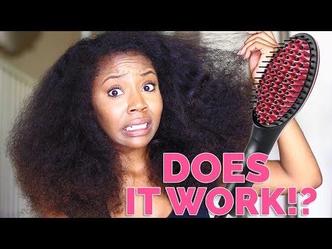 Testing Hair Straightening Tools   Arianna Jonae