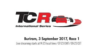 2017 Buriram, TCR Round 15 in full