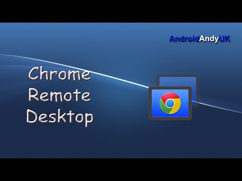 Google Chrome Remote Desktop Android Application