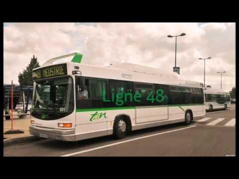 Road Movie SEMITAN : TAN 48  Heuliez AccessBus GX 317 GNC #501