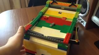 Автоматический диспенсер из Lego V8 - TubeoVo.com