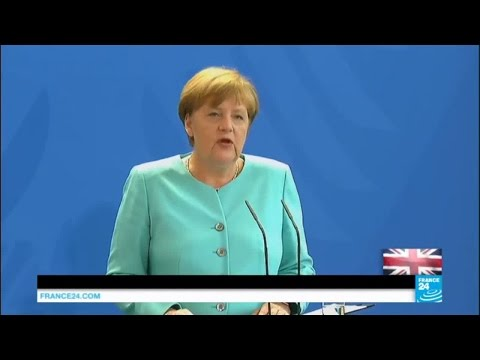 'Brexit' aftermath: German chancellor Angela Merkel on 'leave' vote win