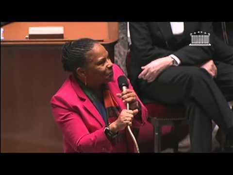Discours final de Christiane Taubira après le vote du projet de loi Mariage pour tous.