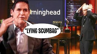 Mark Cuban GOES OFF on Lying Entrepreneur (Shark Tank)