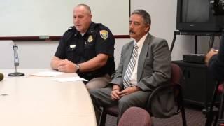 PPD press conference in Loren Red Elk murder case