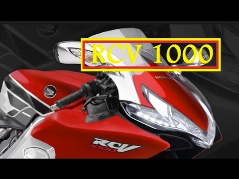 Honda Replica Motorcycle 2015 Honda Rcv 1000 Motorcycle