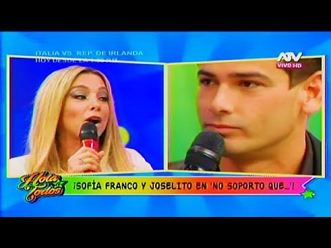 HOLA A TODOS 22/06/16 JOSELITO Y SOFIA FRANCO SE DIJERON SUS VERDADES EN 'NO SOPORTO QUE..'