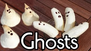 Halloween Treats - Ghosts - Rezepte | Collchen14
