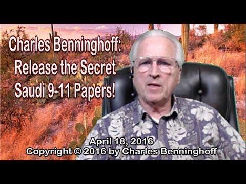 Charles Benninghoff: Release the Secret Saudi 9-11 Pages