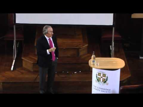 Sir Jackie Stewart at the Cambridge Union Society