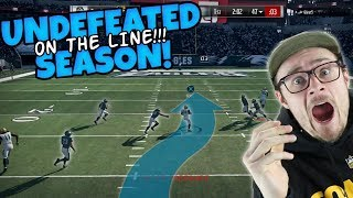 RISKING OUR UNDEFEATED SEASON MULTIPLE TIMES!! WILL IT REMAIN?? Madden 18 Packed Out