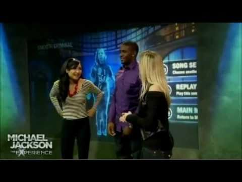 Naya Rivera vs. Reggie Bush Dance Off [Part 1/2]