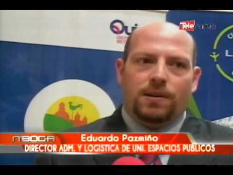 Firma del convenio LAN y Quito Turismo