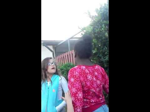 Ghetto girl vs white boy
