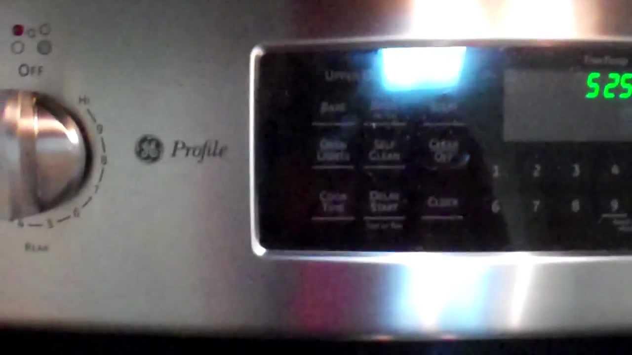 Double Oven  Ge Profile Double Oven Electric Range