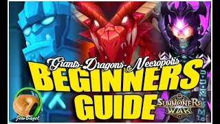 SUMMONERS WAR : Beginners Guide to Dungeons (Giants, Dragons, Necropolis) B10