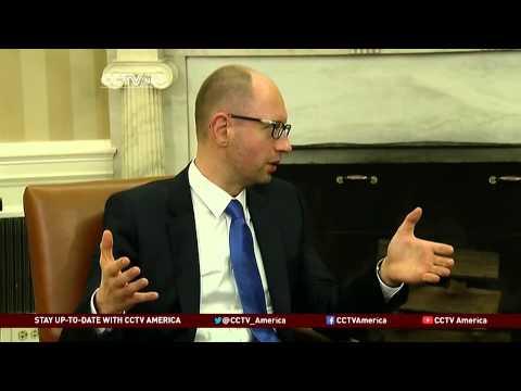 Obama Meets Ukraine's Prime Minister