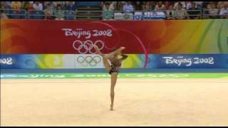 Aliya Yussupova ribbon 2008 final olympic games Beijing
