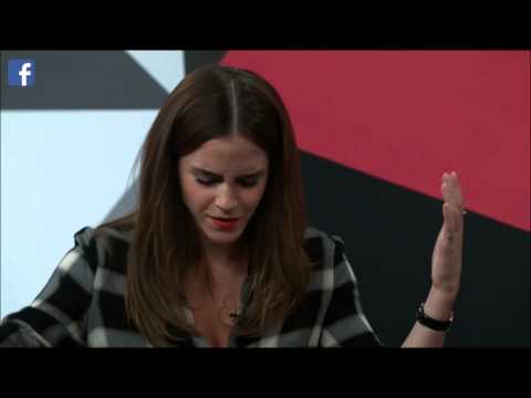 Emma Watson Stream Facebook Women's Day #HeForShe - March 8th, 2015 - PART 1/4