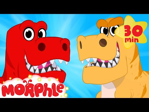 Dinosaur Morphle Goes Back In Time - Morphle Animations For Kids