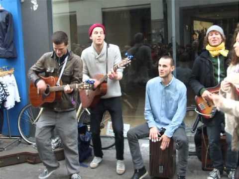 Уличные музыканты. Копенгаген.