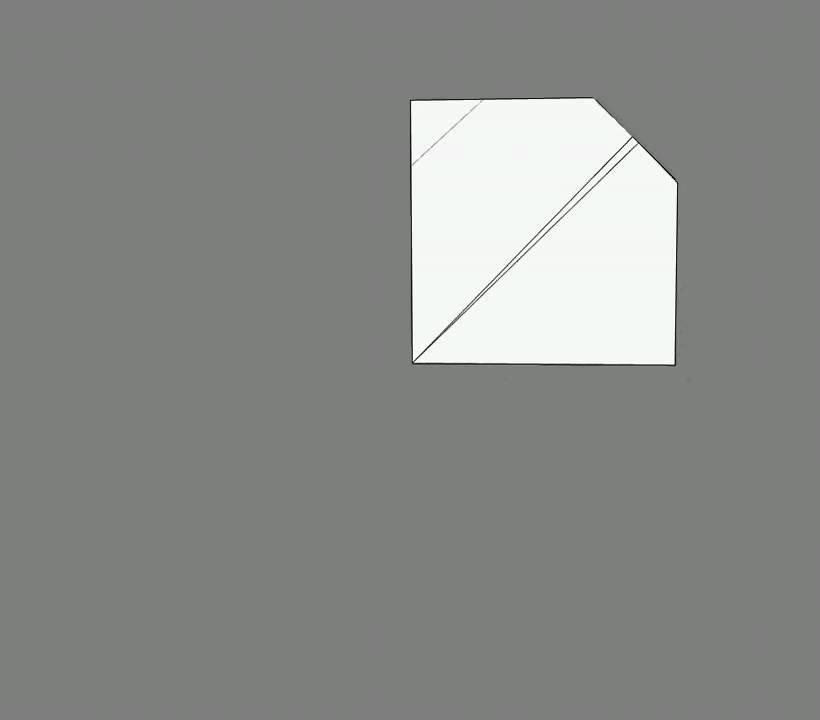 Оригами схема сборки божья