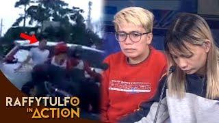 VIRAL VIDEO SA NANGYARING ALITAN SA PAGITAN NG RIDER AT NG DRIVER NG PUTING KOTSE!