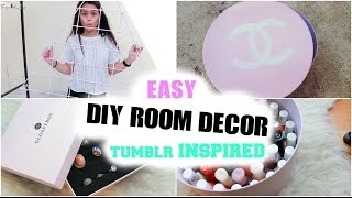 DIY TUMBLR INSPIRED ROOM DECOR | by Nhitastic