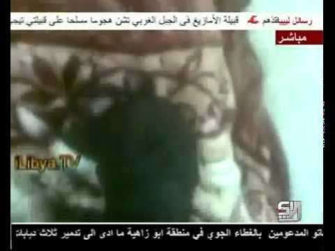 How 'freedom fighters'(libya rebels rats) killed their general Abdel Fattah Younes