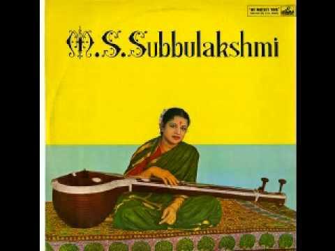 M S  Subbulakshmi   Bhavayami  Raghuramam video