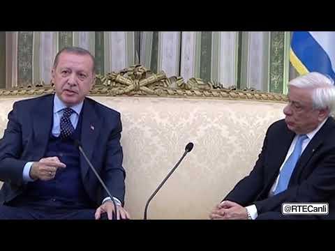 Cumhurbaşkanı Erdoğan'dan Yunanistan'a tarihi ayar