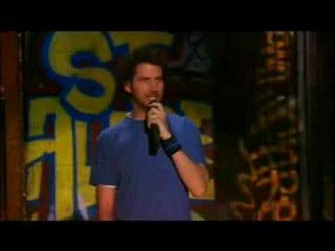 Jamie Kennedy onstage ripping a heckler