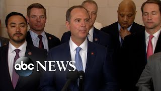 Trump's actions part of an 'incriminating pattern of conduct': Schiff | ABC News