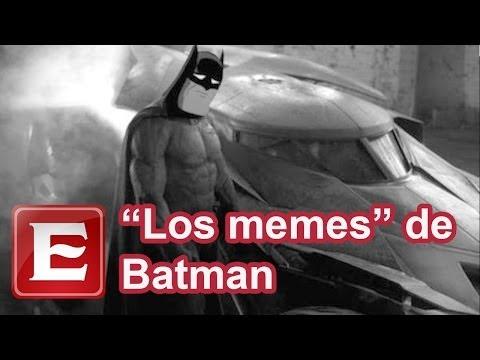Con 'memes' tunden en redes al nuevo Batman de Affleck