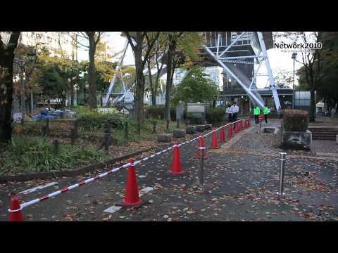 久屋大通再生社会実験-Hisaya Park Run Festival「ギャルソンラン」