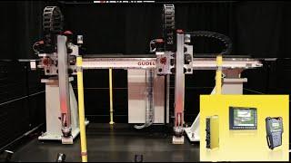 FANUC Multi-Process Gantry Motion Control - Güdel ZP3