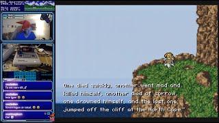 Final Fantasy VI - Celes Suicide scene - Jap/Eng translation
