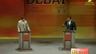Debat - Anwar Ibrahim dan Shabery Cheek 4